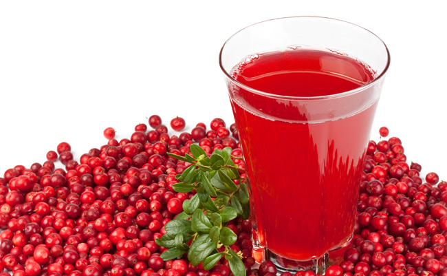 Cystitis and cranberry juice
